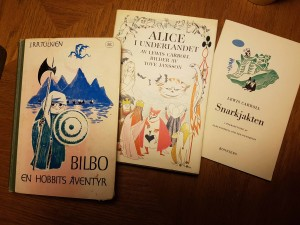 Janssons illustrations of <i>Alice</i> were later used in a lot of versions, among them, Finnish, American, British, and Norwegian editions.